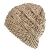 Ponytail Beanie Men Women Baggy Warm Crochet Winter Wool Knit Ski Beanie Skull Slouchy Caps Hat Hat knitted Hat hombre invierno – Skullies & Beanies