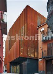 Immeuble de la justice à Balaguer – Inspiration DETAIL – #Balaguer #Détail #fa…