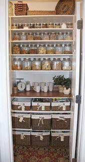 Organisierte Küchen-Pantry-Ideen – Der Ideenraum