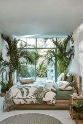 6 Möglichkeiten, den Sommer ins Schlafzimmer zu b…
