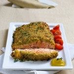Photo of Recipe Fillet of salmon in crust Modern Woman