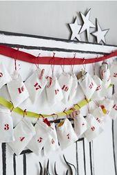 Adventskalender Goodie taschen Weihnachtsland des Nickens   – Holidays