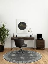 Arianna Desk Chair (Distressed Black) – Ashford Collection