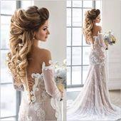 Hochzeitsfrisuren für langes Haar 2019 5 Hübsche und einzigartige Brautfrisuren für langes Haar Modetrends