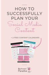 Complete Guide To Successful Social Media Content Planning | Social media, Social media content, Soc