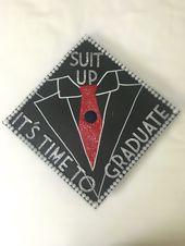 Barney Stinson- How I Met Your Mother Graduation Cap