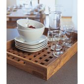 Fionia Teak Serving Tray | HORNE