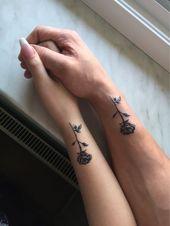 26 auffällige Rose Tattoo-Ideen für Sie  – Liatsy – #Auffällige #für #Liatsy… – Tätowierung