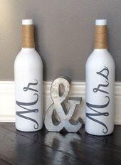 69 DIY Weinflasche Handwerk für Wohnkultur auf ein Budget #diyhomedecor #diywinebottl … #b…