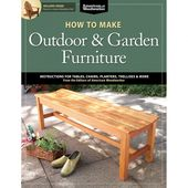 Photo of How to Make Outdoor and Garden Furniture Book