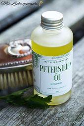 Kosmetik aus dem Kräutergarten – wunderbare Petersilie & ihre Eigenschaften