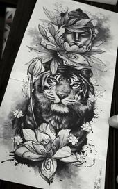 Trendy tattoo leg tiger 17 ideas Dieses Bild hat 4 Repins. Autor: Papa Bear Tattoo #Ideen #Bein #Tattoo #Tiger #trendy