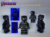 Custom Lego Avengers: Final Black Panther von Donut Minifigs. Die Figur ist extra …   – Lego Ideen