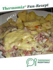 Überbackene Putenschnitzel mit Kartoffeln – T H E R M O M I X