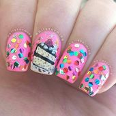21 Cake Nail Designs That Look Good Sufficient to Eat