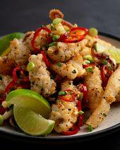 Chinesischer Salz- & Pfeffer-Tintenfisch – Marion's Kitchen