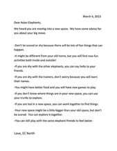 Cover Letter Template For Zoo Cover Letter Template Letter Templates Lettering