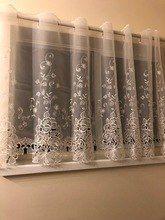 Online Shop الريف نصف الستار الفاخرة المطرزة نافذة الستارة الرباط تنحنح القهوة ستارة للمطبخ مجلس الوزراء الباب A 114 Aliexpress Mob Home Decor Decor Curtains