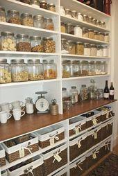 Organize your pantry shelves idea