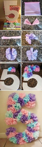 Make a great kids party with the crafting ideas for kids birthday