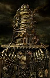 25 Creative Examples of Steampunk Concept Artwork
