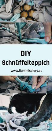 Alfombra de inhalación de bricolaje Schn: utilización ideal para dueños de perros que trabajan   – Selbermachen | tolle DIY Anleitungen für dich und deinen Hund