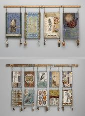 Cloth Artwork Tapestry Wall Hanging – TopDekoration.com