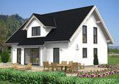 Hausidee Sattel- oder Satteldachhaus mit einer Grundfläche von rd. 143 m²   – Haus-Ideen Satteldachhäuser