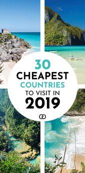 35 billigste Länder im Jahr 2019 zu besuchen