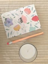 Brilliant blooms to brighten your days! #Shop personalized floral notebooks  #No…