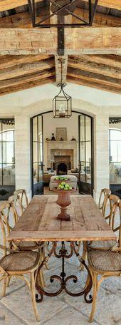Decoracion Rustica Comedores Al Aire Libre Interiores De Casa Rustica Diseno Para El Hogar
