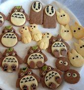 ジブリのクッキー トトロ他 By Rocoおばさん レシピ かわいいデザート 面白い お菓子 レシピ
