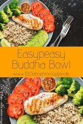 Buddha Bowl: Einfaches Rezept zum Abnehmen – Detox Rezepte