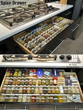 Top 10 Awesome DIY Kitchen Organization Ideas – Top Inspired