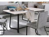 Homexperts Esstisch, Breite 140 oder 160 cm, 160 cm x 76 cm x 90 cm   – Products