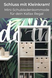 Drawer chest of drawers for Ikea Kallax shelf