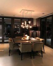 Luxus und elegante Esszimmer Ideen 17