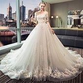 Traum Hochzeitskleid Prinzessin