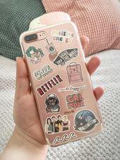 Legendär Phone case with stickers ✨