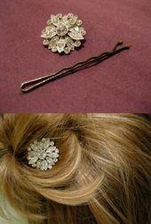 TOP 10 DIY Haarschmuck  – Crafty: Jewelry