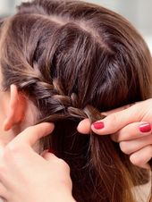 Braiding Short Hair: Hairstyles with Instructions | WUNDERWEIB