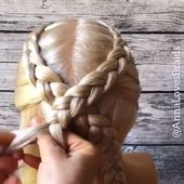 Braid hairstyle has always been a symbol of beauty. Therefore, hairstyles with b… – braided hairstyles