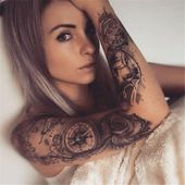 50 Awesome Sleeve Tattoos For Women Which You Will In Love With – Page 39 of 50   – Tattoos