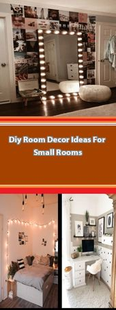Diy Room Decor Ideas For Small Rooms Bedroom is where you merely forget about yo…