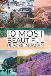 10 schönsten Orte in Japan! Die perfekte Menge an Reiseinspiration für …   – Japan trip!