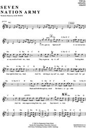 Seven Nation Army (Keyboard) White Stripes [PDF Noten] >>> KLICK auf die Noten u… – MA