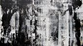 Abstract Painting – Black and White ink and acrylic painting – Inspiration