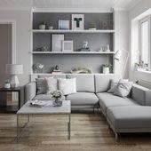 Skandinavisches Wohnzimmer im Behance