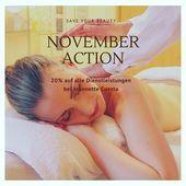 November Aktion nur bei Jeannette   #kosmetik #gesichtsbehandlung #relax #schwei
