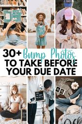 Baby Bump so many wonderful ideas on how to take creative pics with your baby bump! Matern...